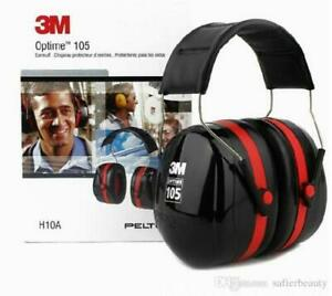 3m H10a Peltor Optime 105 Over the head Earmuffs New In Box