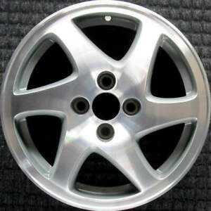 Acura Integra Machined W Silver Pockets 15 Inch Oem Wheel 1998 To 2001