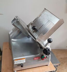 Berkel 919 1 Commercial 2 speed Automatic Or Manual Gravity Feed Slicer