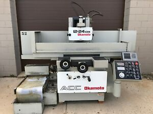Okamoto Acc 12 24dx 12 X 24 Hydraulic 3 Axis Automatic Surface Grinder