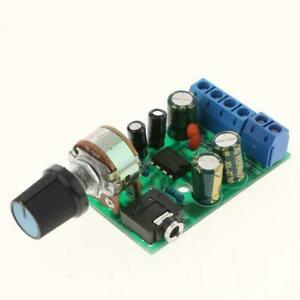 Tda2822 Dc 3v 12v 5v 3 5mm Stereo Amp Module Audio Board Portable Amplifier T7s5