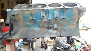 1967 Ford 7 Liter 428 Standard Bore Short Block 6h31 Dated August 31 1966