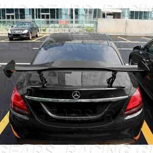 Universal 57 Dragon 1 Style Painted Black Abs Gt Trunk Adjustable Spoiler Wing
