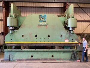 Cincinnati 750h Hydraulic Press Brake 750 Ton X 18 Feet Amada Accurpress