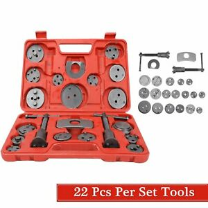 22pcs Universal Disc Brake Caliper Rewind Brake Piston Wind Back Tool Set