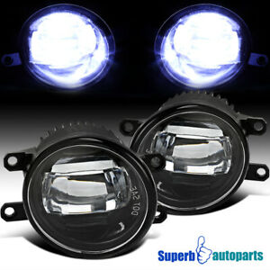 For 2014 2020 Tundra Led Cool White Projector Front Driving Fog Bumper Lights