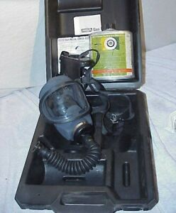 Msa Gas Mask Gmeo ssw Entry Escape Respirator Canister Type Full Face
