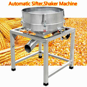 Commercial Electric Flour Sieve Vibrating Machine Automatic Powder Sifter Shaker