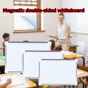 Magnetic White Board Dry Erase Board Eraser School Writing Marker V3f9