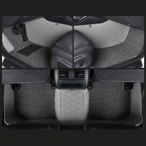 Us Car Liners Floor Mats Grey Carpets For Ford F 150 2011 2014 5 seats 4 door