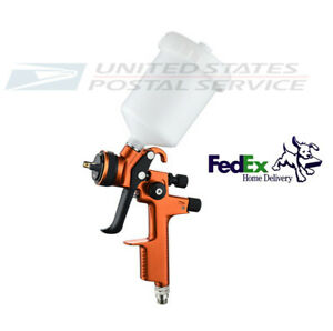 Pro Hvlp Pneumatic Spray Gun 1 3 Mm W 600ml Cup Pot Auto Car Paint Sprayers Usa