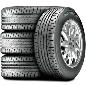 4 New Armstrong Blu Trac Pc 205 60r16 92v A S All Season Tires