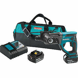 Makita Xrh03t 18v Lxt Li ion Cordless 7 8 Rotary Hammer Kit Accepts Sds plus