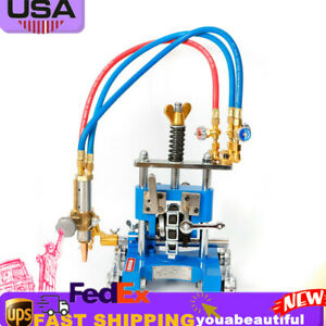 Manual Pipe Cutting Beveling Machine Torch Track Cutter For Straight bevel Cut