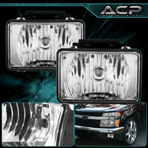 Clear Lens Oe Bumper Driving Fog Lights Lamp For 04 12 Chevy Colorado gmc Canyon