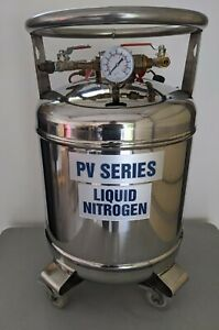 Wessington Cryogenics Liquid Nitrogen Tank On Wheels Model Pv 30
