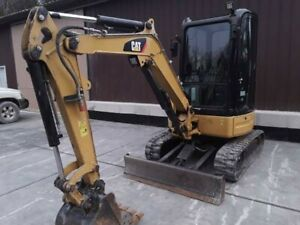 2014 Cat 303e Cr Mini Excavator Low Hours
