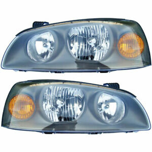 For Hyundai Elantra 2004 2005 2006 Pair New Left Right Headlight Assembly