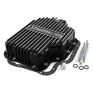 Procomp Gm Chevy Ford Turbo Th400 Aluminum Transmission Oil Pan Cast Finned