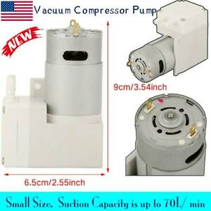 Dc12v Air Suction Vacuum Pump Suction Vacuum Compressor Pump For Food Packaging