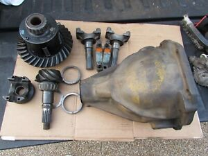 63 Corvette Orig Differential Gm Rear End Posi Dated L 8 2 Cc 355 12 8 62