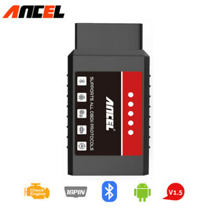 Auto Obd2 Scanner Elm327 Car Code Reader Check Engine Bluetooth Diagnostic Tool