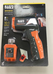 Klein Tools Infrared Thermometer With Gfci Receptacle Tester Ir1 Nip