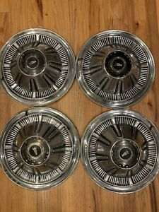 Vintage 1966 1967 1968 Galaxie Ford Pickup Truck Bronco Hubcaps Wheel Covers