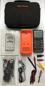 Blue Point Mt596a Digital Multimeter Electrical Tester Kit W Accessories