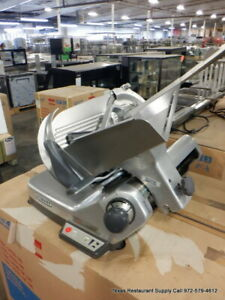 Hobart 3713 Commercial Semi automatic Meat Slicer With 13 Blade