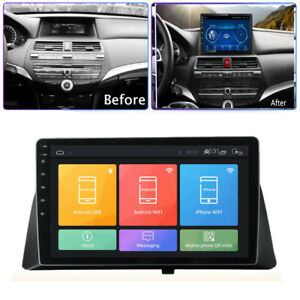 10 1 Android 9 1 Car Radio Head Unit Gps For Honda Accord 2008 2012 2gb 32gb