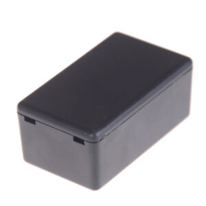 Black Waterproof Plastic Electric Project Case Junction Box 60 36 2 Se
