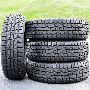 4 Set Crosswind A T 265 70r17 Load E 10 Ply At All Terrain Blem Tires