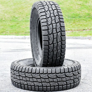 2 Pair Crosswind A T 285 75r16 Load E 10 Ply At All Terrain Blem Tires