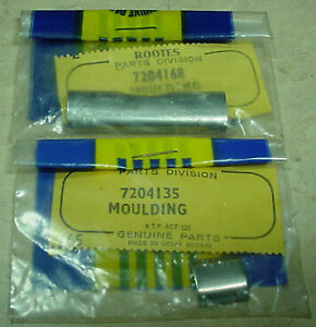 Rootes Group Hillman Sunbeam Imp Chamois Nos Front Rear Window Moulding Clips