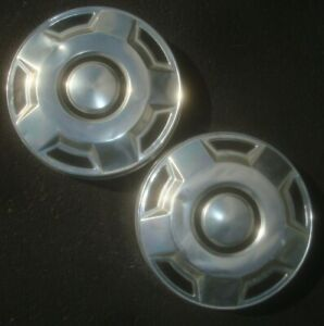 Lot Of 2 1970s 1980s 1990s Ford 1 2 Ton Dog Dish Hubcaps Center Cap Poverty