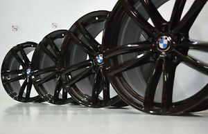 19 Bmw 740i 750i 540i 530i Oem Factory Wheels Rims Black 2017 2018 2019 2020