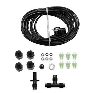Air Shock Absorber Suspension Hose Line Accessory Adaptor Kit Ride Repair Parts