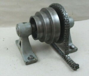 South Bend 9 Junior Lathe Horizontal Bed Mount Countershaft Pulley Drive Link
