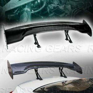 Universal 57 Dragon 3 Style Carbon Style Abs Gt Trunk Adjustable Spoiler Wing