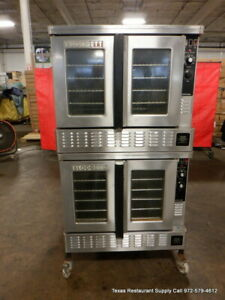 Blodgett Zephatr gl Gas Double Stack Full Size Convection Oven