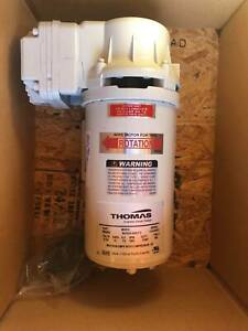 Thomas Piston Air Compressor Vacuum Pump 12v Ta 4051