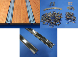 Bed Strips Kit Chevy 1954 1955 Polished Stainless Short Stepside Set Truck Wood