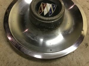 1 Gran Sport Center Caps 1967 1968 Rally Wheels Buick Skylark Gs Rare 2