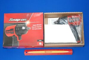 Brand New In Factory Packaging Snap On 1 2 Drive Red Air Impact Wrench Pt850