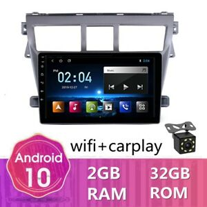 Android 10 0 Car Gps Navi Radio Wifi Dvd Player For Toyota Vios Yaris Belta 2008