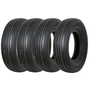 Weize St225 75r15 Trailer Tire Radial 10 Ply Load Range E 225 75r15 4 Pack