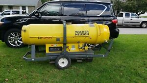 Wacker Neuson Construction Jobsite Heater Hi400d G Natural Gas Propane