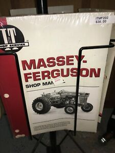 I t It Shop Service Tractor Manual Mf202 Massey Ferguson Mf175 Mf180 Mf205 Mf210