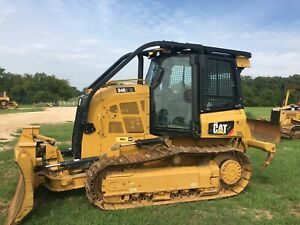 2018 Cat D4k2 Xl Dozer Only 300 Hours 3 Shank Ripper Caterpillar D4k Crawler